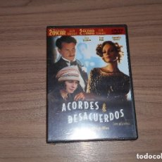 Cine: ACORDES & DESACUERDOS DVD DE WOODY ALLEN UMA THURMAN SEAN PENN SAMANTHA MORTON NUEVA PRECINTADA. Lote 255496010