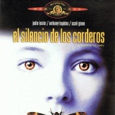 Cine: DVD EL SILENCIO DE LOS CORDEROS JODIE FOSTER. Lote 80063821