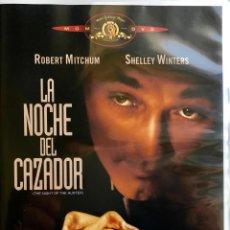 Cine: LA NOCHE DE CAZADOR-LA OBRA UNICA Y MAESTRA DE CHARLES LAUGHTON-UN FILM DE CULTO. Lote 80070553