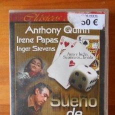 Cine: DVD SUEÑO DE REYES - ANTHONY QUINN - IRENE PAPAS - INGER STEVENS (A8). Lote 85953374