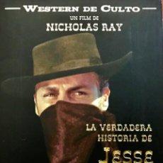 Cine: LA VERDADERA HISTORIA DE JESSE JAMES- UN FILM DE NICHOLAS RAY-WESTERN DE CULTO. Lote 80121309