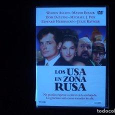 Cine: LOS USA EN ZONA RUSA - DVD NUEVO PRECINTADO. Lote 96820655