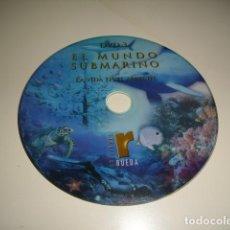 Cine: CD EL MUNDO SUBMARINO LA VIDA EN EL ARRECIFE SIN CARATULA SOLO CD BAL-4. Lote 80293541