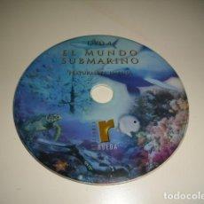 Cine: CD EL MUNDO SUBMARINO LA VIDA NATURALEZA MARINA SIN CARATULA SOLO CD BAL-4. Lote 80293581