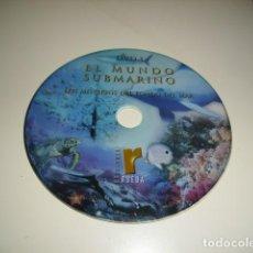 Cine: CD EL MUNDO SUBMARINO LOS MISTERIOS DEL FONDO DEL MAR SIN CARATULA SOLO CD BAL-4. Lote 80293629