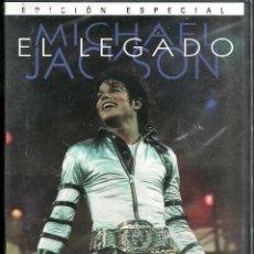 Cine: DVD - EDICION ESPECIAL - MICHAEL JACKSON - EL LEGADO - NUEVA - PRECINTO - 2 SCANS -. Lote 80334477