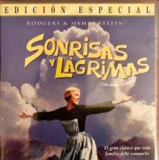 Cine: SONRISAS Y LAGRIMAS (THE SOUND OF MUSIC).EDICIÓN ESPECIAL. 2 DISCOS Y LIBRETO 8 PÁGINAS- EXTRAS. Lote 80372181