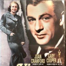 Cine: VIVAMOS HOY (TODAY WE LIVE, 1933)-JOAN CRAWFORD-GARY COOPER- UNA PELÍCULA DE HOWARD HAWKS-. Lote 80488557