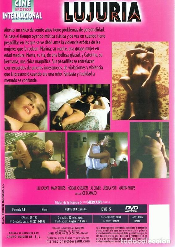 Cine: DVD LUJURIA - Foto 2 - 80515101