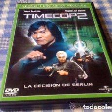 Cine: TIMECOP 2 : LA DECISIÓN DE BERLIN (2003) PELICULA EN DVD CINE CIENCIA FICCIÓN FUTURISTA ACCIÓN. Lote 80518805