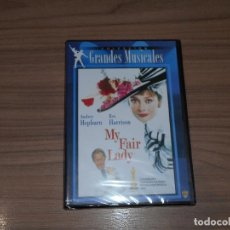 Cine: MY FAIR LADY DVD AUDREY HEPBURN REX HARRISON NUEVA PRECINTADA. Lote 143152057