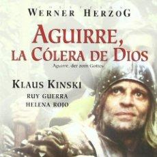 Cine: AGUIRRE, LA CÓLERA DE DIOS AGUIRRE **DE WERNER HERZOG CON KLAUS KINSKI ** 1ª EDICIÓN EN DVD **. Lote 73362327