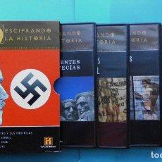 Cine: DESCIFRANDO LA HISTORIA VOLUMEN 1, PROFECÍAS, 4 DVD INGLES Y CASTELLANO CON SUBTÍTULOS. Lote 80914316