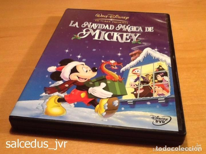 Peliculas Dibujos Animados De Navidad.La Navidad Magica De Mickey Mouse Pelicula En Dvd Walt Disney Dibujos Animados