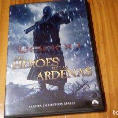 Cine: HEROES DE LAS ARDENAS, 100 MINUTOS , BASADA EN HECHOS REALES. Lote 81131240