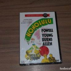 Cine: HONOLULU DVD ELEANOR POWELL ROBERT YOUNG GEORGE BURNS NUEVA PRECINTADA. Lote 110259931