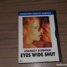 Cine: EYES WIDE SHUT DVD DE STANLEY KUBRICK NICOLE KIDMAN TOM CRUISE. Lote 105891894