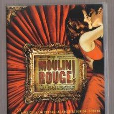 Cine: DVD CINE - MOULIN ROUGE! - COMO NUEVO - UN SOLO USO. Lote 81636220