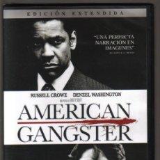 Cine: DVD CINE - AMERICAN GANGSTER - NUEVO CON EL PRECINTO ORIGINAL. Lote 81637088