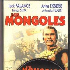 Cine: DVD CINE - LOS MONGOLES - EXCELENTE COMO NUEVO UN SOLO USO. Lote 81638220