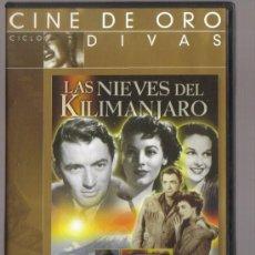 Cine: DVD CINE - LAS NIEVES DEL KILIMANJARO - COMO NUEVO - UN SOLO USO. Lote 81638616