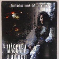 Cine: DVD CINE - LA MASCARA DE HIERRO - COMO NUEVO - UN SOLO USO. Lote 81638724