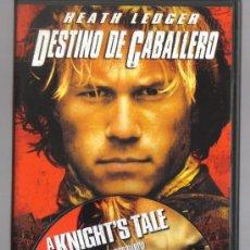 Cine: DVD CINE - DESTINO DE CABALLERO - COMO NUEVO - UN SOLO USO. Lote 81638964