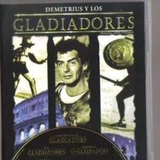 Cine: DVD CINE - DEMETRIUS Y LOS GLADADIORES - COMO NUEVO - UN SOLO USO. Lote 81639144