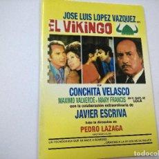 Cinema: EL VIKINGO-PEDRO LAZAGA-JOSE LUIS LOPEZ VAZQUEZ-DVD-CAJA DE CARTON-N. Lote 81663588