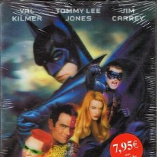 Cine: DVD BATMAN FOREVER VAL KILMER (PORTADA HOLOGRÁFICA) (PRECINTADO). Lote 81939556