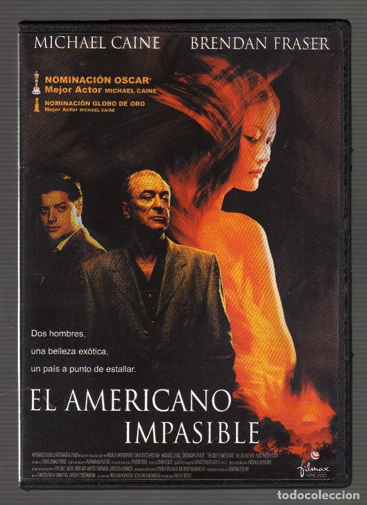 EL AMERICANO IMPASIBLE · DIR: PHILLIP NOYCE (Cine - Películas - DVD)