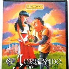 Cine: DVD EL JOROBADO DE NOTRE DAME. Lote 82210416