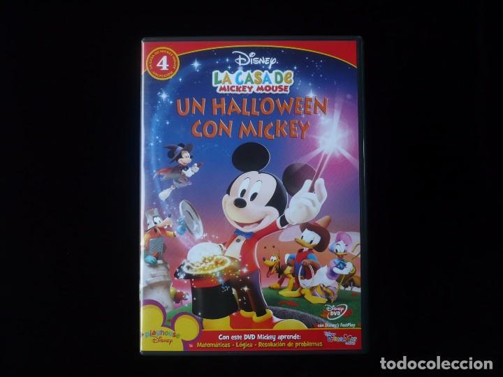 La Casa De Mickey Mouse Un Halloween Con Mickey