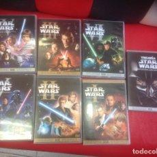 Cine: DVD TRILOGÍA STAR WARS (MASTER. DIGITALMENTE THX). I II III IV V VI Y CONTENIDOS ADICIONALES.. Lote 82401512