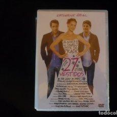 Cinema: 27 VESTIDOS - DVD NUEVO PRECINTADO. Lote 82744444