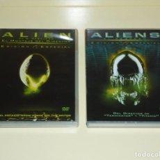 Cine: PACK ALIEN & ALIENS EDICIONES ESPECIALES DEL COLECCIONISTA. Lote 82836164