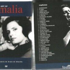 Cine: THE ART OF AMALIA ( DOBLE DVD DOCUMENTAL SOBRE AMALIA RODRIGUES ). Lote 83057592