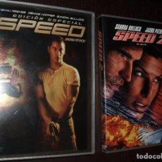 Cine: CINE PELICULA DVD,SPEED Y 2 PELICULAS. Lote 32947669