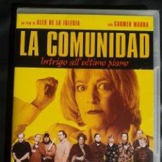 Cine: LA COMUNIDAD ** DE ALEX DE LA IGLESIA **** EDICION IMPORTACION ** NUEVA Y PRECINTADA. Lote 52653514