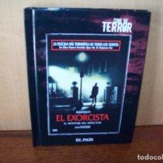 Cine: EL EXORCISTA - DIRIGIDA POR WILLIAM FRIEDKIN - DVD EDICION PERIODICO + LIBRETO. Lote 198595461