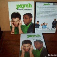 Cine: PACK PSYCH - TEMPORADA UNO COMPLETA EN DVD - 4 DVDS. Lote 83460816