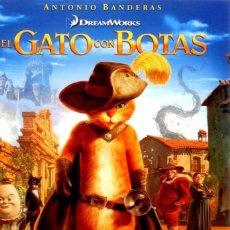 Cine: EL GATO CON BOTAS (PRECINTADA). Lote 83463920