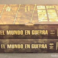 Cine: DVD BOX-SET DOCUMENTAL 'EL MUNDO EN GUERRA' EDICIÓN DE LUJO - EDITADO POR LA SAV - 14 DVDS. Lote 83590824