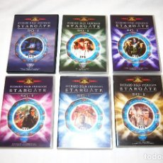 Cine - LOTE STARGATE SG 1 6 DVD IMPECABLES - 83655472