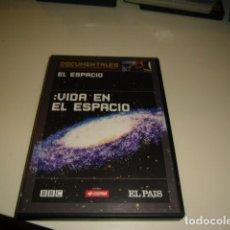 Cine: DVD DOCUMENTALES SUPERPRODUCCIONES DE CIENCIA Y NATURALEZA VIDA EN EL ESPACIO. Lote 83761128