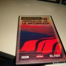 Cine: DVD DOCUMENTALES SUPERPRODUCCIONES DE CIENCIA Y NATURALEZA MARAVILLAS DE LA NATURALEZA . Lote 83761372