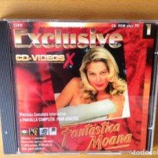 Cine: FANTASTICA MOANA (CD - VIDEOS X) - CINE X -. Lote 83785484