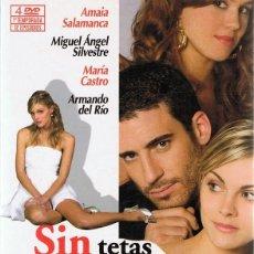 Cine: DVD SIN TETAS NO HAY PARAÍSO 1ª TEMPORADA ( 4 DVD). Lote 172909817