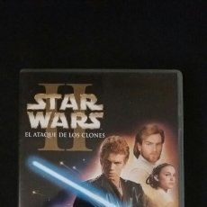 Cine: DVD STAR WARS EL ATAQUE DE LOS CLONES. Lote 83831835