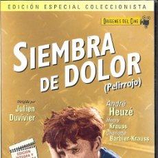Cine: SIEMBRA DE DOLOR DVD (JULIEN DUVIVIER) - LA EMOTIVA INFANCIA DE UN NIÑO MALTRATADO ...POR SU MADRE. Lote 194736528